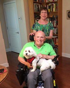 Mobile Electric Wheelchair Customer