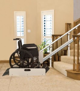 Wheelchair Lift for Home Stairs