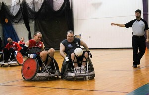 Adaptive Sports - Rugby Game
