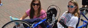Recumbent bike customers