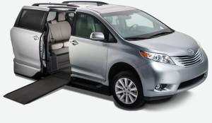 2015 Toyota Sienna XLE - Silver